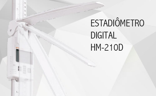 Estadiômetro Digital HM-210D